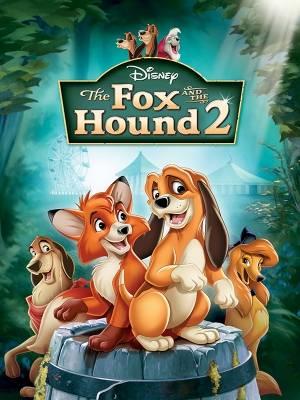 روباه و سگ شکاری2