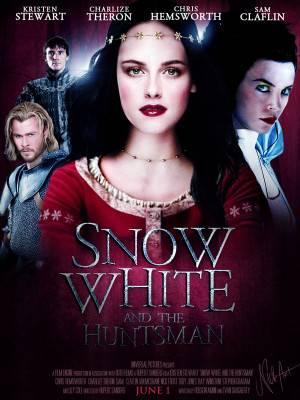 سفید برفی و شکارچی