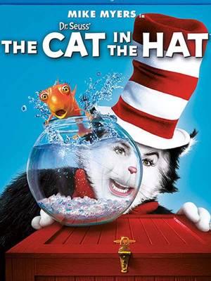 گربه کلاه به سر