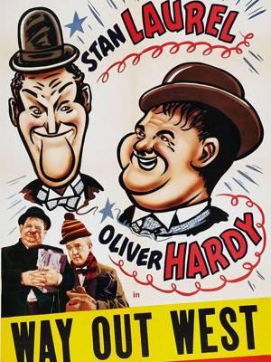 لورل و هاردی : به سوی غرب