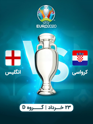 کرواسی : انگلیس (یورو 2020)