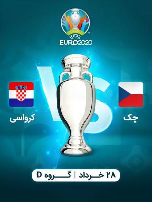 چک : کرواسی (یورو 2020)