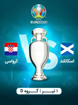 اسکاتلند : کرواسی (یورو 2020)