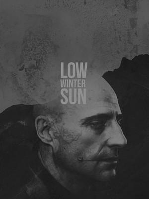 خورشید کم فروغ زمستان